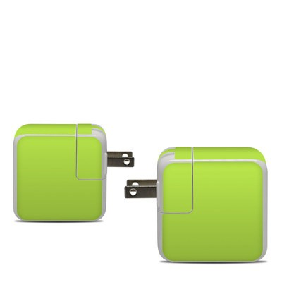 Apple 30W USB-C Power Adapter Skin - Solid State Lime