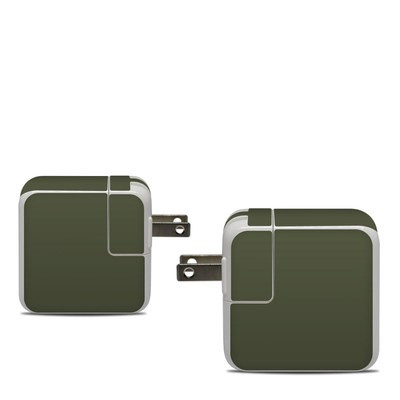 Apple 30W USB-C Power Adapter Skin - Solid State Olive Drab