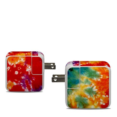 Apple 30W USB-C Power Adapter Skin - Tie Dyed