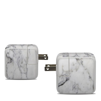 Apple 30W USB-C Power Adapter Skin - White Marble