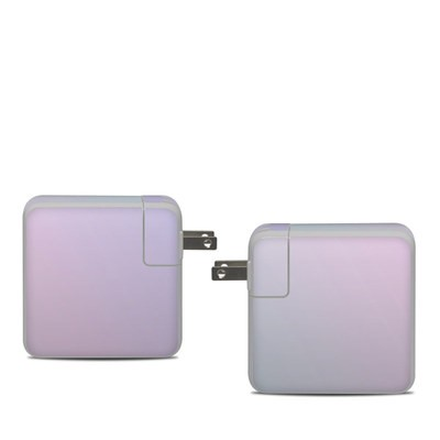 Apple 61W USB-C Power Adapter Skin - Cotton Candy