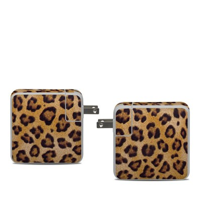 Apple 61W USB-C Power Adapter Skin - Leopard Spots