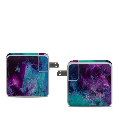 Apple 61W USB-C Power Adapter Skin - Nebulosity