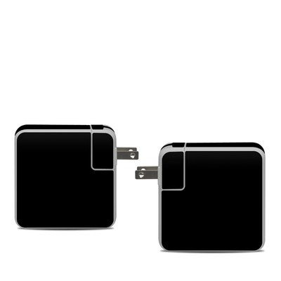 Apple 61W USB-C Power Adapter Skin - Solid State Black