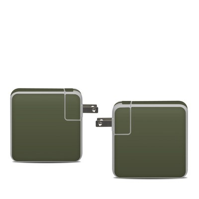 Apple 61W USB-C Power Adapter Skin - Solid State Olive Drab