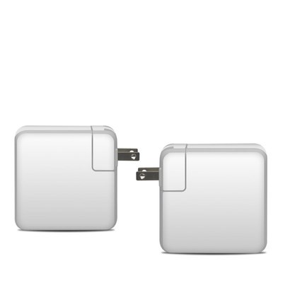 Apple 61W USB-C Power Adapter Skin - Solid State White