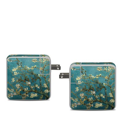 Apple 61W USB-C Power Adapter Skin - Blossoming Almond Tree