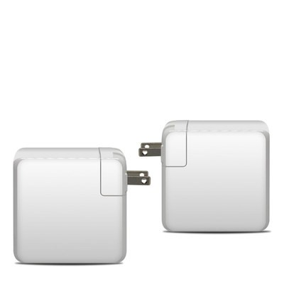 Apple 87W USB-C Power Adapter Skin - Solid State White