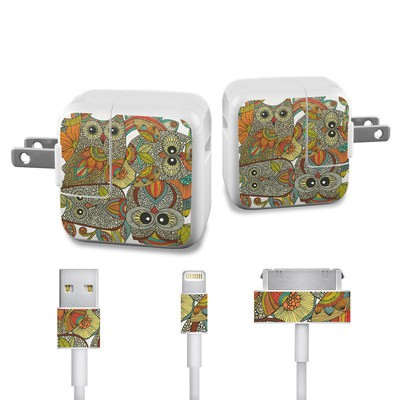 Apple iPad Charge Kit Skin - 4 owls