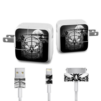 Apple iPad Charge Kit Skin - Abandon Hope