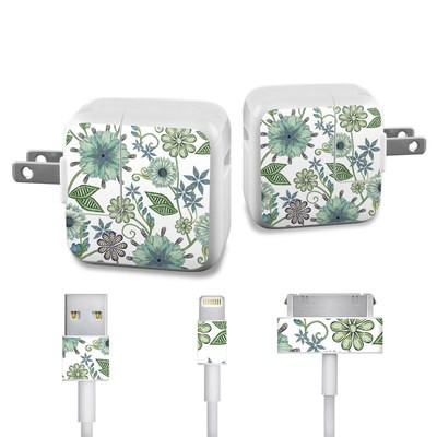 Apple iPad Charge Kit Skin - Antique Nouveau