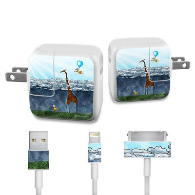 Apple iPad Charge Kit Skin - Above The Clouds