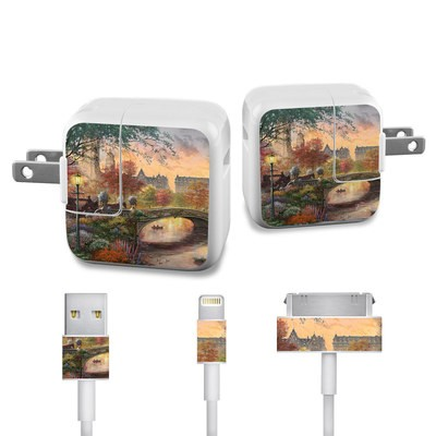 Apple iPad Charge Kit Skin - Autumn in New York