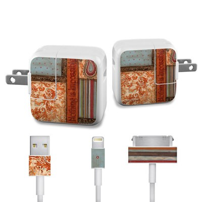Apple iPad Charge Kit Skin - Be Inspired