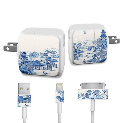 Apple iPad Charge Kit Skin - Blue Willow