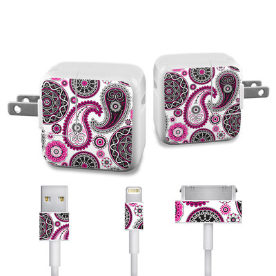 Apple iPad Charge Kit Skin - Boho Girl Paisley