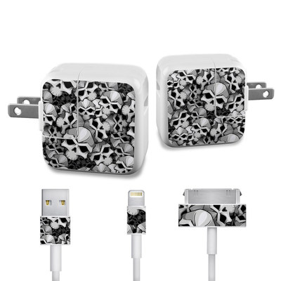 Apple iPad Charge Kit Skin - Bones