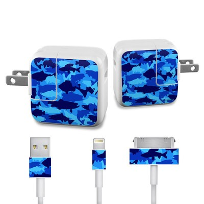 Apple iPad Charge Kit Skin - Camo Fish