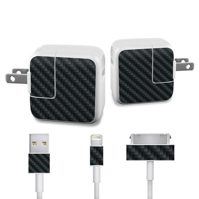 Apple iPad Charge Kit Skin - Carbon