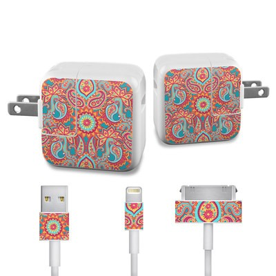Apple iPad Charge Kit Skin - Carnival Paisley