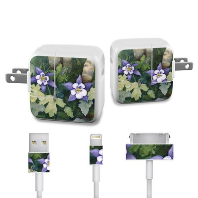 Apple iPad Charge Kit Skin - Colorado Columbines