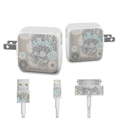 Apple iPad Charge Kit Skin - Christmas In Paris