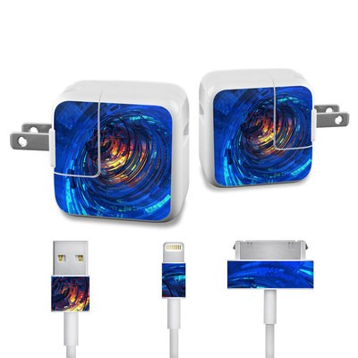 Apple iPad Charge Kit Skin - Clockwork
