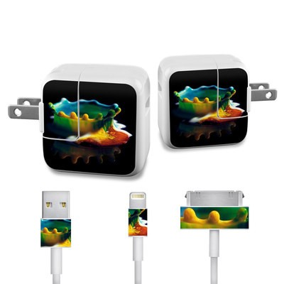 Apple iPad Charge Kit Skin - Colored Crown