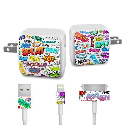 Apple iPad Charge Kit Skin - Comics