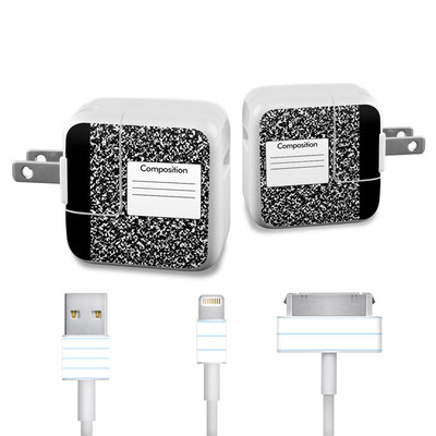 Apple iPad Charge Kit Skin - Composition Notebook