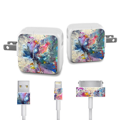Apple iPad Charge Kit Skin - Cosmic Flower