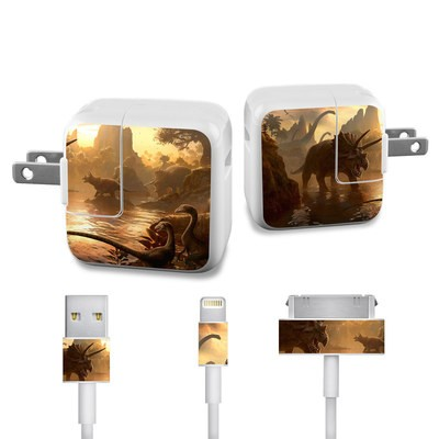 Apple iPad Charge Kit Skin - Cretaceous Sunset