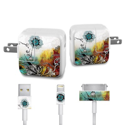 Apple iPad Charge Kit Skin - Frozen Dreams