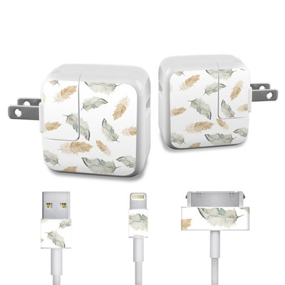 Apple iPad Charge Kit Skin - Feathers