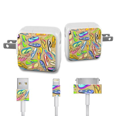 Apple iPad Charge Kit Skin - Flip Flops