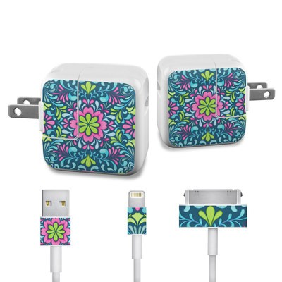 Apple iPad Charge Kit Skin - Freesia