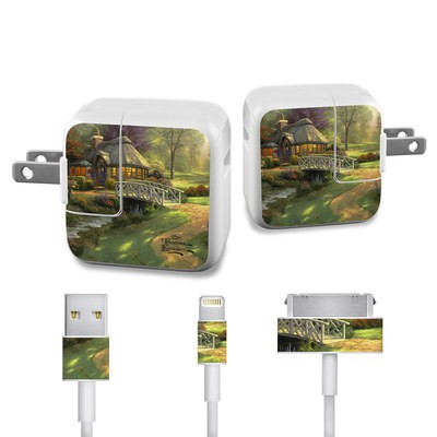 Apple iPad Charge Kit Skin - Friendship Cottage