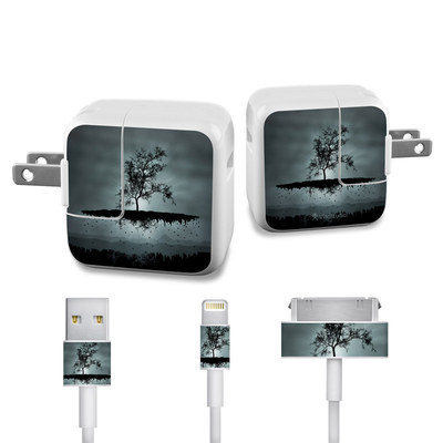 Apple iPad Charge Kit Skin - Flying Tree Black