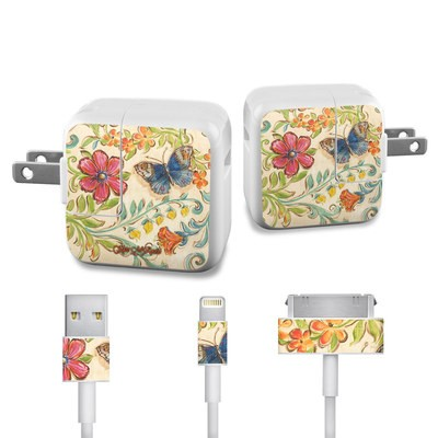 Apple iPad Charge Kit Skin - Garden Scroll