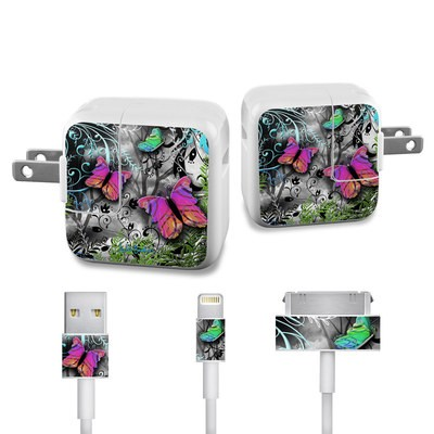 Apple iPad Charge Kit Skin - Goth Forest
