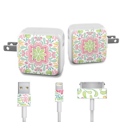 Apple iPad Charge Kit Skin - Honeysuckle