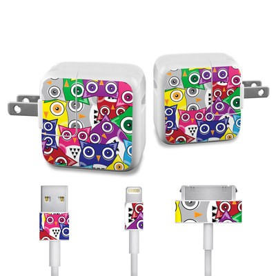 Apple iPad Charge Kit Skin - Hoot