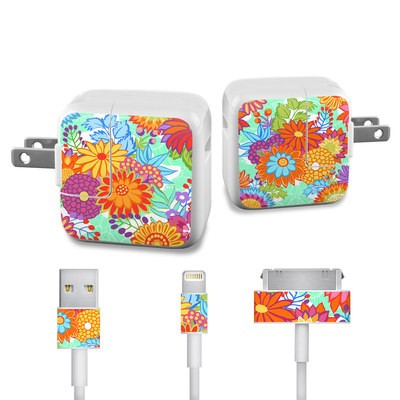 Apple iPad Charge Kit Skin - Jubilee Blooms