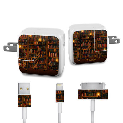 Apple iPad Charge Kit Skin - Library