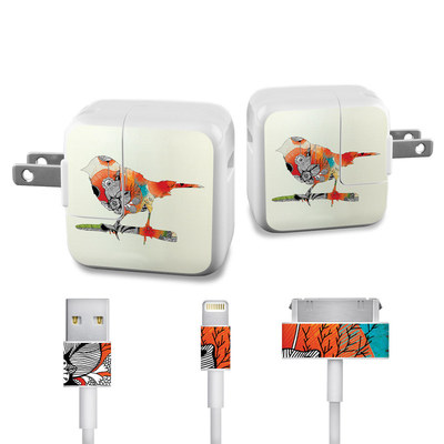 Apple iPad Charge Kit Skin - Little Bird