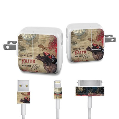Apple iPad Charge Kit Skin - Leap Of Faith