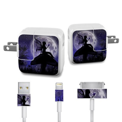 Apple iPad Charge Kit Skin - Moonlit Fairy