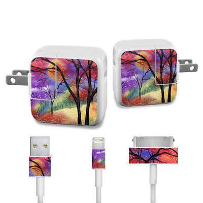 Apple iPad Charge Kit Skin - Moon Meadow