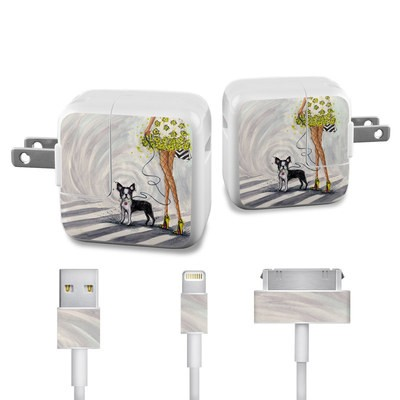 Apple iPad Charge Kit Skin - Hello New York