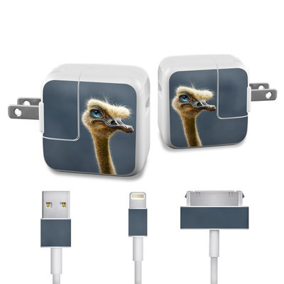 Apple iPad Charge Kit Skin - Ostrich Totem